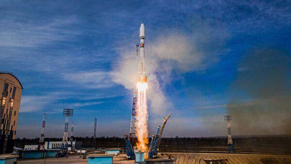 Start Sojuzu 2.16 z kosmodromu Vostočnyj - Sputnik Česká republika