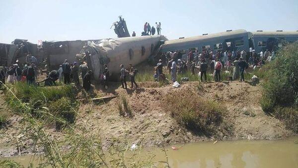 Poblíž egyptského Suhagu se srazily dva vlaky - Sputnik Česká republika