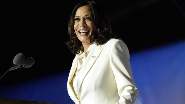 Americká viceprezidentka Kamala Harrisová - Sputnik Česká republika