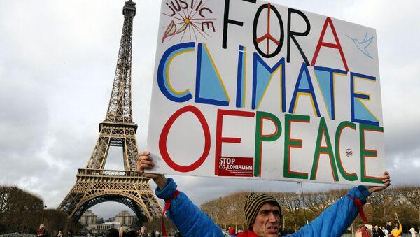 Protesty proti změnám klimatu   - Sputnik Česká republika