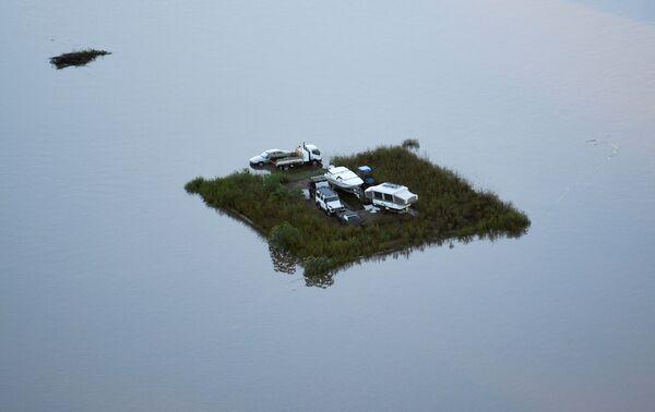 Povodně v Austrálii. - Sputnik Česká republika