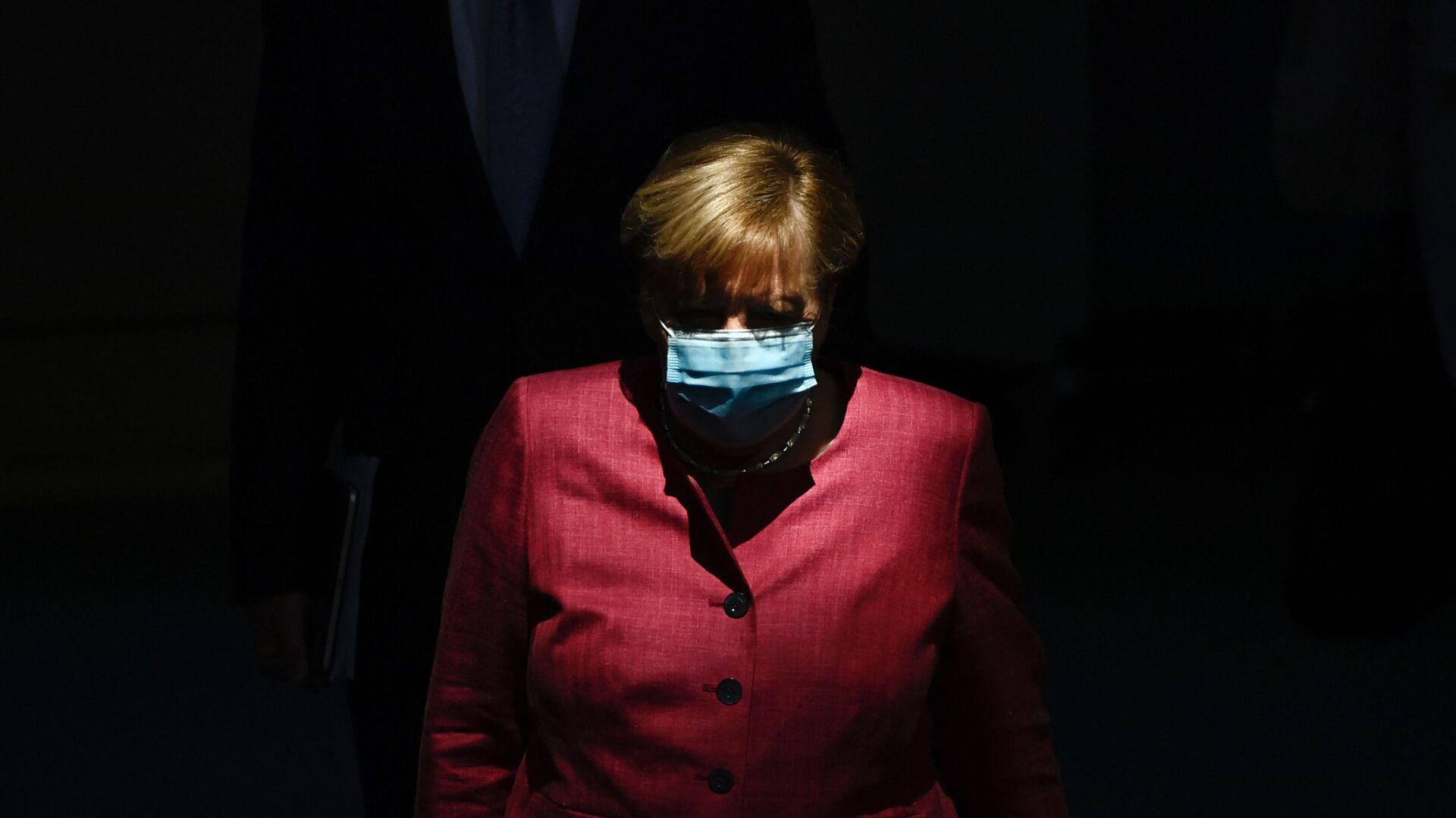 Německá kancléřka Angela Merkelová - Sputnik Česká republika, 1920, 25.04.2021