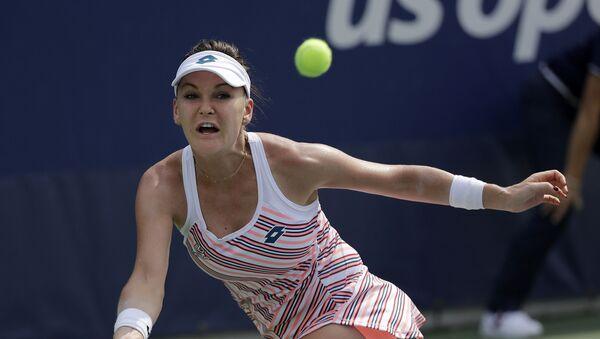 Bývalá polská tenistka Agnieszka Radwańská. - Sputnik Česká republika