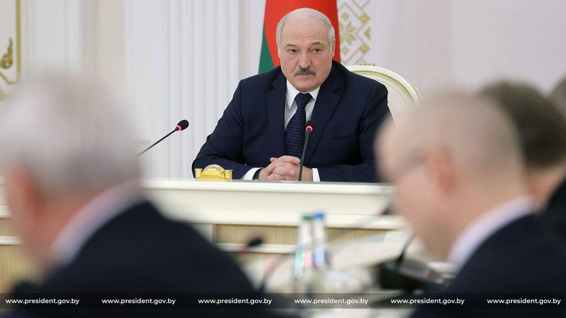 Běloruský prezident Alexandr Lukašenko - Sputnik Česká republika, 1920, 17.04.2021