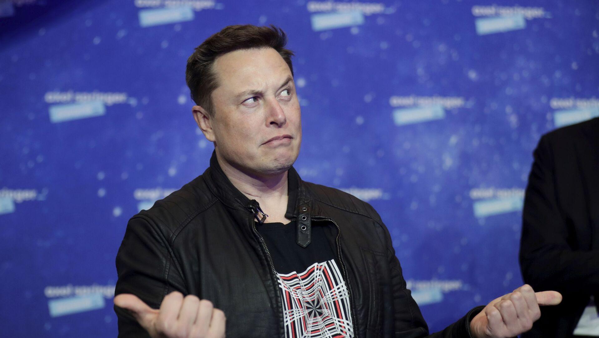 Majitel SpaceX a generální ředitel společnosti Tesla Elon Musk - Sputnik Česká republika, 1920, 05.04.2021