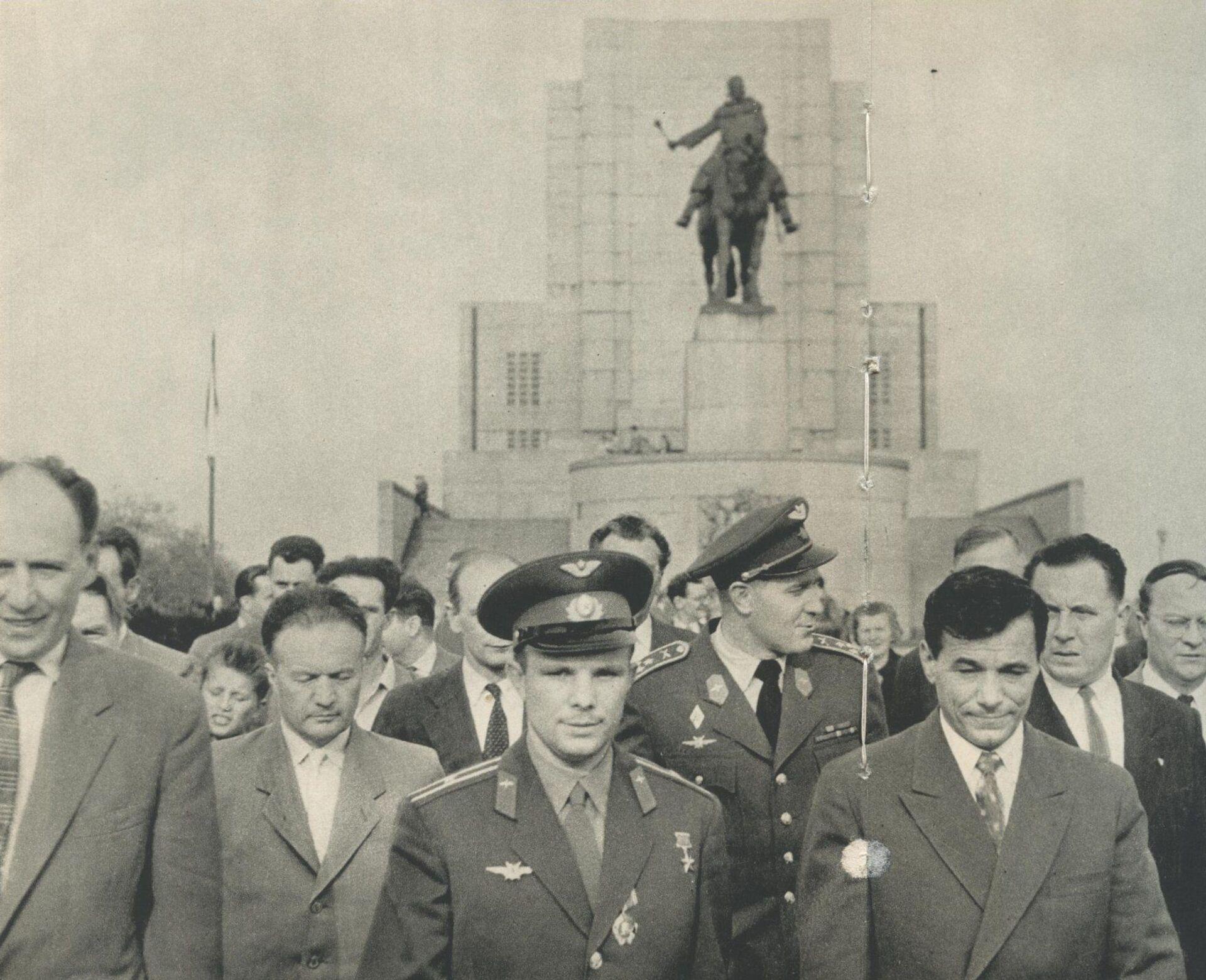 Jurij Gagarin na pražském Vítkově - Sputnik Česká republika, 1920, 20.04.2021