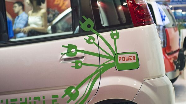 Na výstavě elektromobilů v Pekingu - Sputnik Česká republika