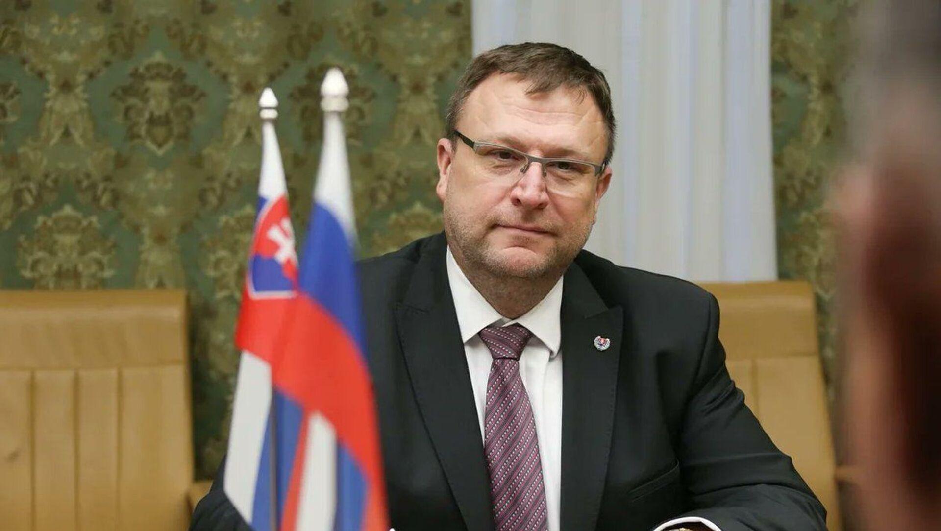 Slovenský velvyslanec v Rusku Ľubomír Rehák - Sputnik Česká republika, 1920, 05.04.2021
