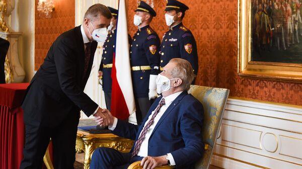 Prezident České republiky Miloš Zeman. Ilustrační foto - Sputnik Česká republika