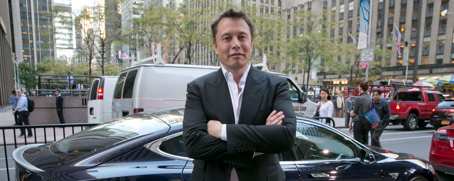 Zakladatel společností Tesla a SpaceX Elon Musk - Sputnik Česká republika, 1920, 28.06.2021