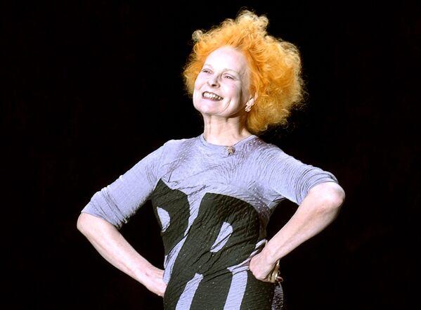 Britská návrhářka a zakladatelka stylu punk v módě Vivienne Westwoodová. - Sputnik Česká republika