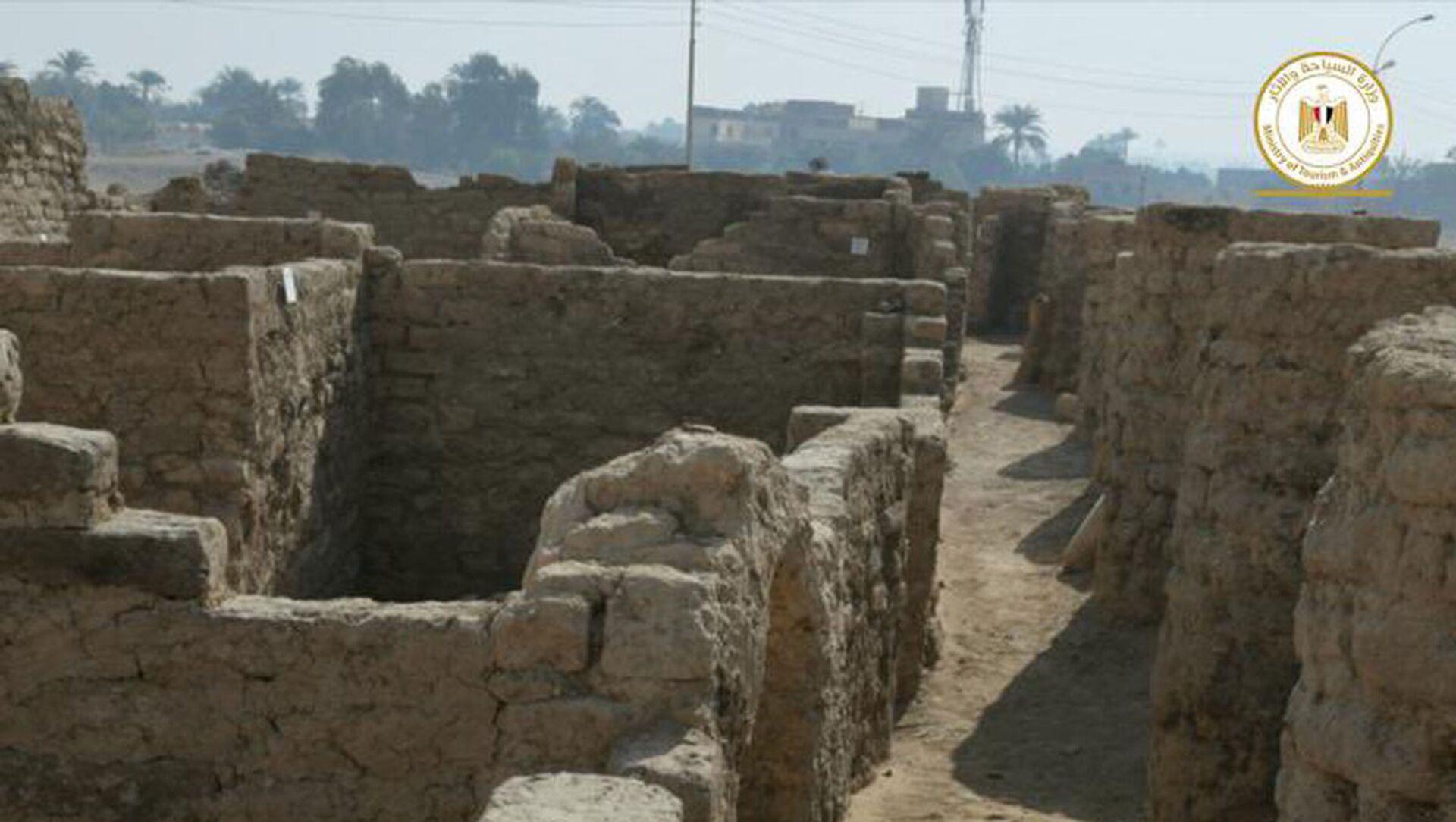Archeologové objevili na území Egyptu Zlaté město - Sputnik Česká republika, 1920, 10.04.2021