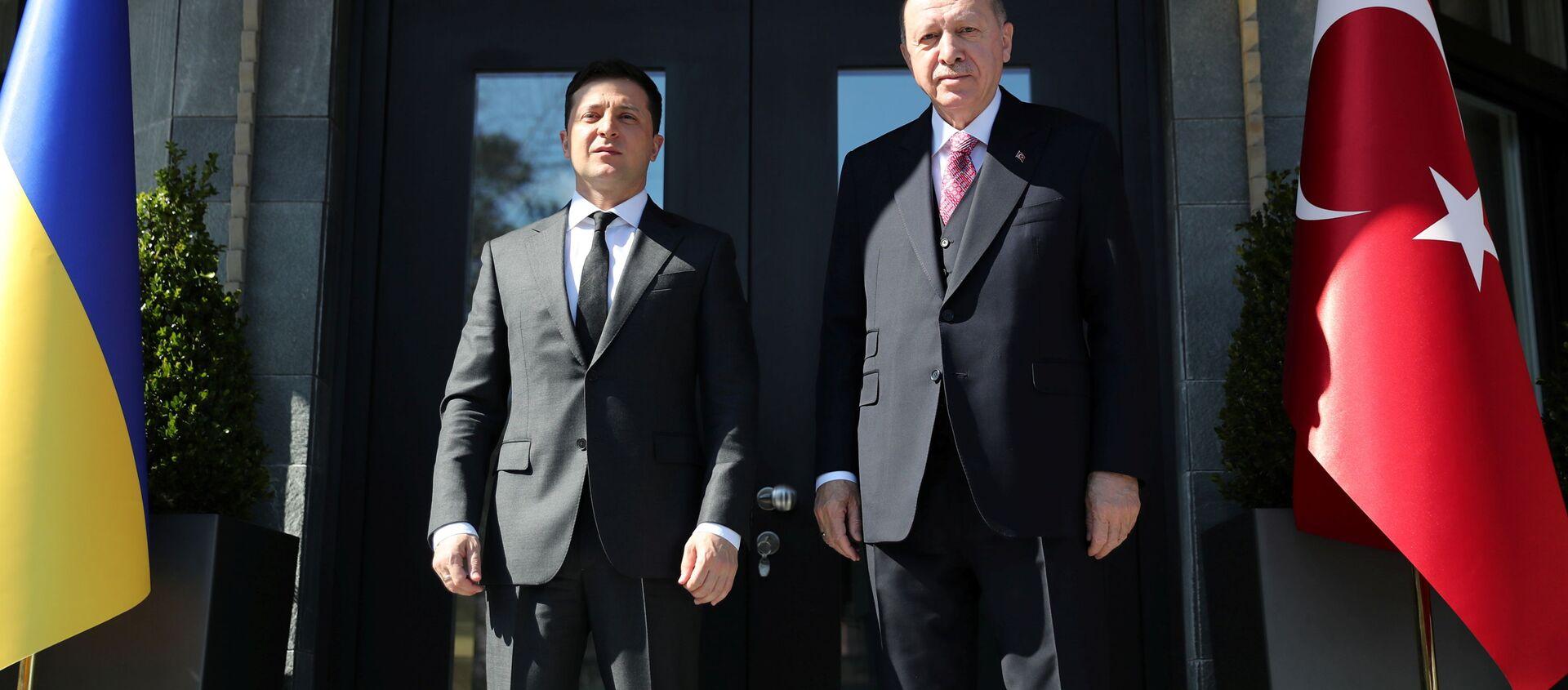 Zelenskyj a Erdogan - Sputnik Česká republika, 1920, 11.04.2021