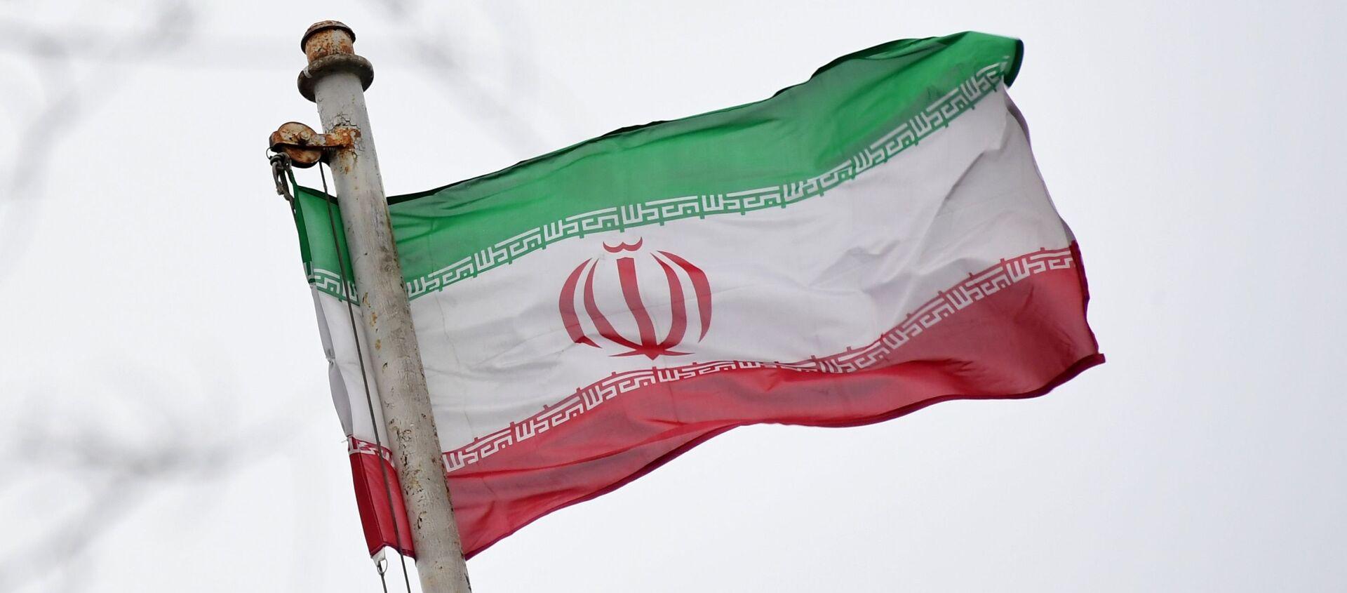 Vlajka velvyslanectví Íránské islámské republiky - Sputnik Česká republika, 1920, 12.04.2021
