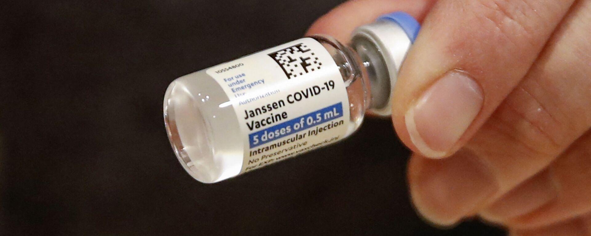 Vakcína od Johnson & Johnson - Sputnik Česká republika, 1920, 13.04.2021