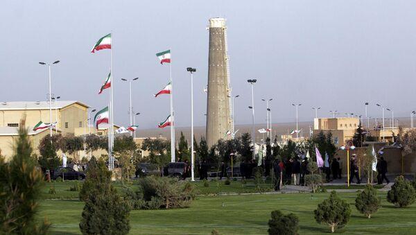 Pohled na jaderná zařízení v Natanzu v Íránu - Sputnik Česká republika