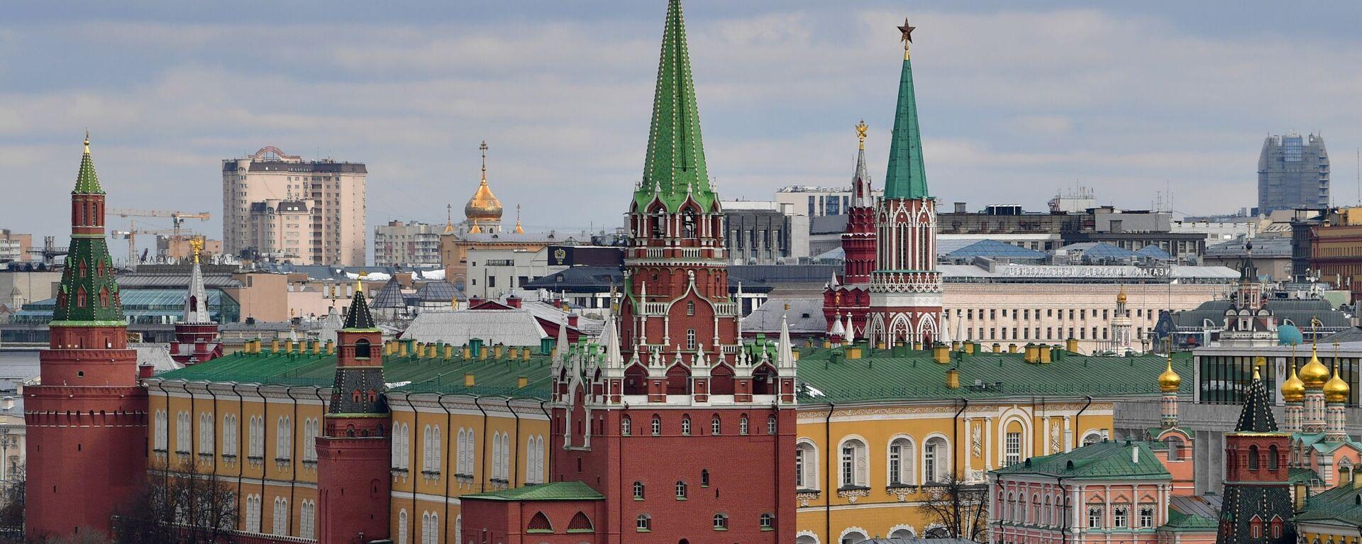 Pohled na Kreml v Moskvě - Sputnik Česká republika, 1920, 29.04.2021