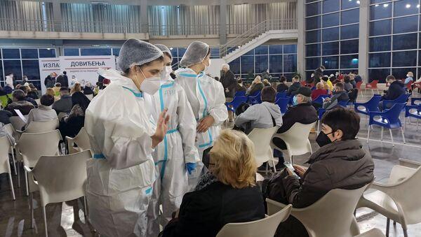 Očkování ruskou vakcínou Sputnik V v Srbsku - Sputnik Česká republika
