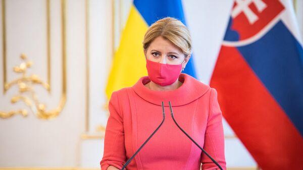 Slovenská prezidentka Zuzana Čaputová - Sputnik Česká republika