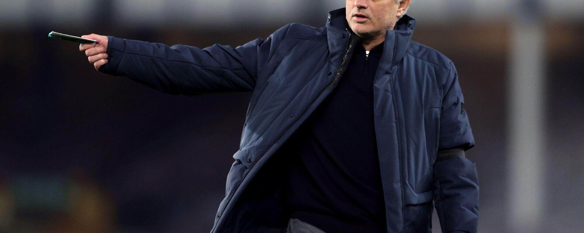 Fotbalový trenér José Mourinho - Sputnik Česká republika, 1920, 19.04.2021