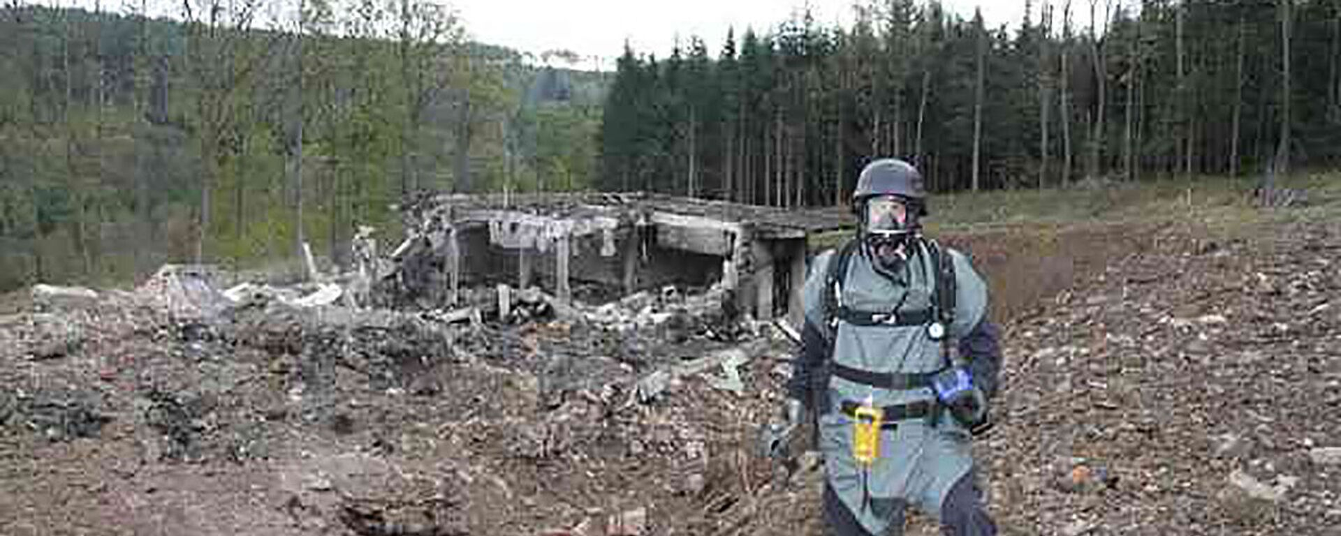 Výbuch ve skladu munice ve Vrběticích - Sputnik Česká republika, 1920, 20.04.2021