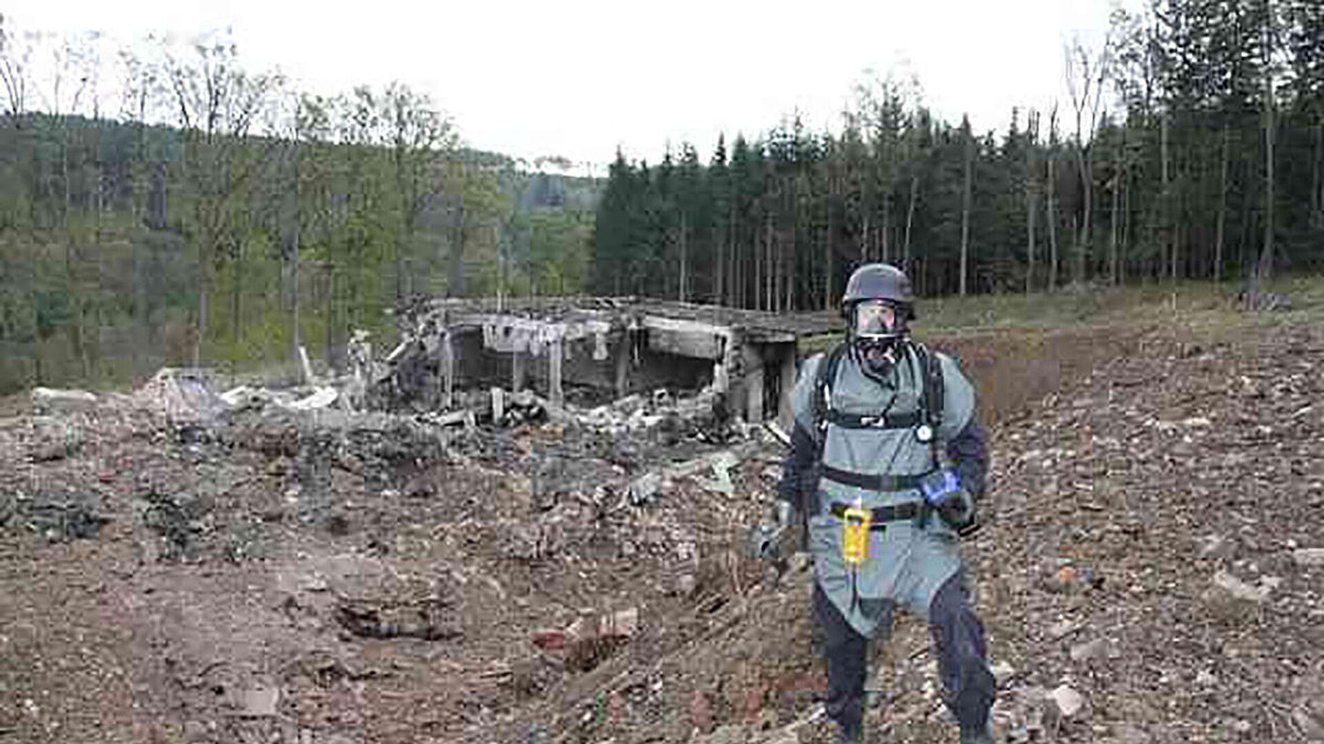 Výbuch ve skladu munice ve Vrběticích - Sputnik Česká republika, 1920, 01.05.2021