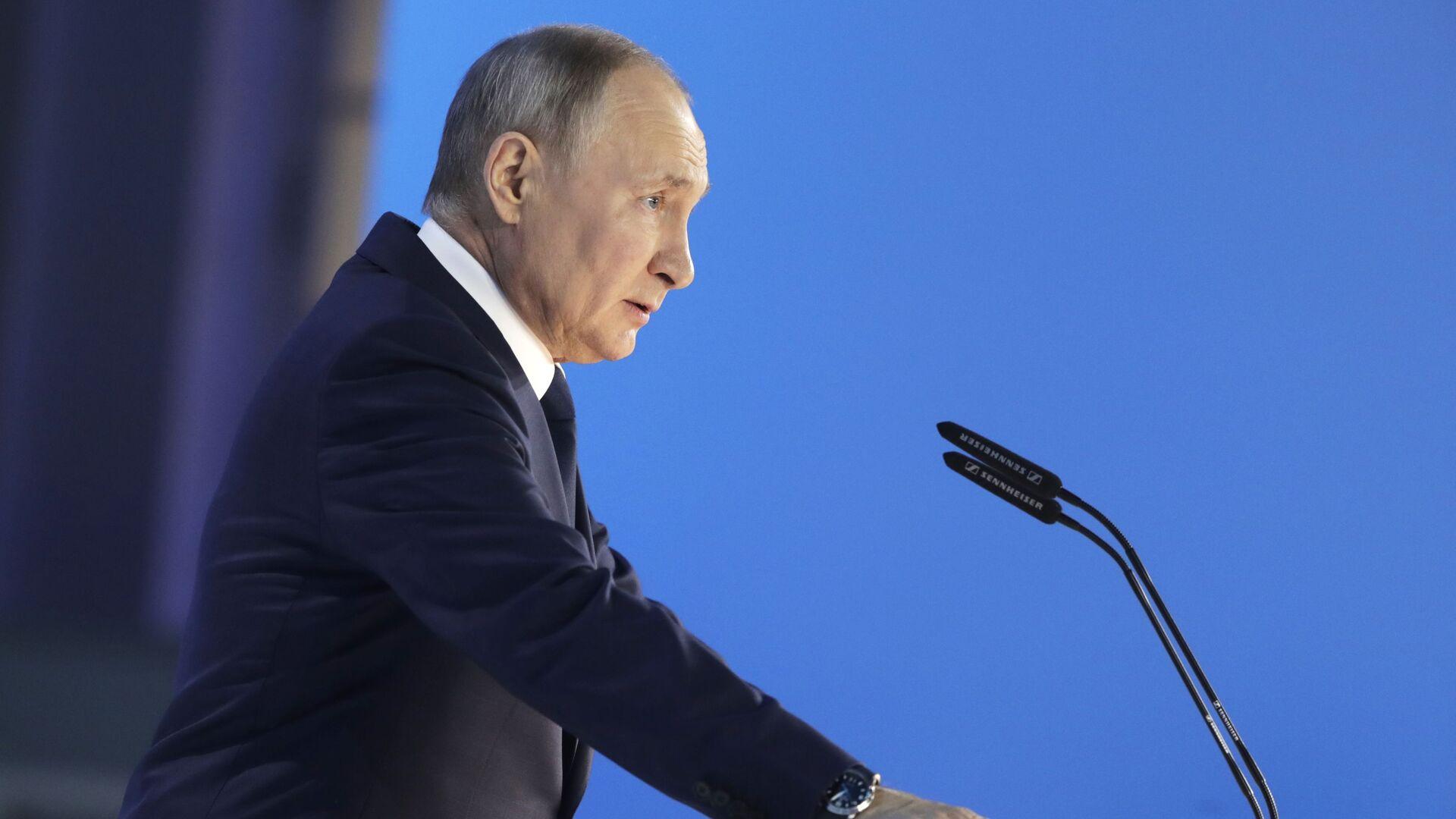 Ruský prezident Vladimir Putin - Sputnik Česká republika, 1920, 16.07.2021