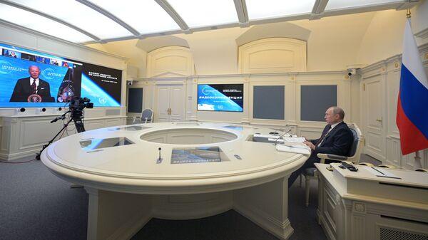 Президент Путин выступил на онлайн-саммите по климату - Sputnik Česká republika