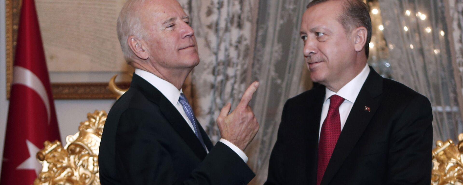 Joe Biden a Recep Tayyip Erdogan - Sputnik Česká republika, 1920, 21.06.2021