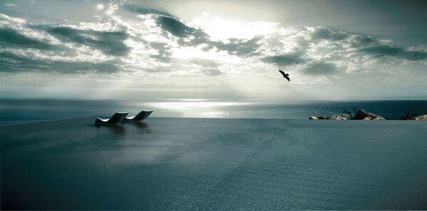 Nejvíce minimalistický bazén v soukromé rezidenci Kois Associated Architects, Řecko - Sputnik Česká republika