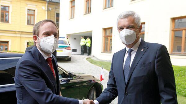 Встреча министров иностранных дел Чехии и Словакии в Братиславе - Sputnik Česká republika