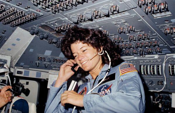 Sally Rideová, první Američanka ve vesmíru - Sputnik Česká republika
