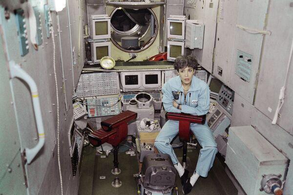První francouzská astronautka  Claudie Haigneréová - Sputnik Česká republika