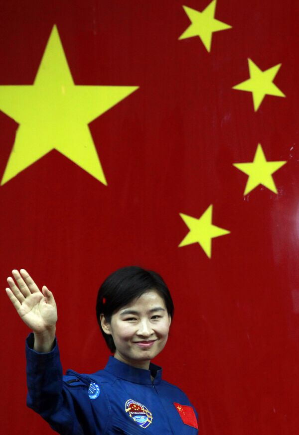 První čínská astronautka Liu Yang - Sputnik Česká republika