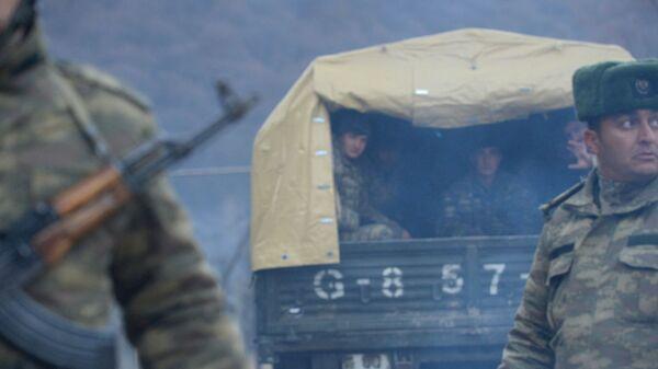 Азербайджанская армия вошла в Кельбаджарский район - Sputnik Česká republika
