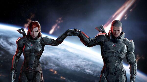Кадр из игры Mass Effect Legendary Edition - Sputnik Česká republika