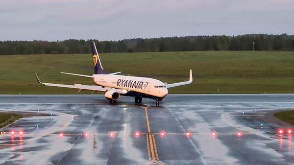 Самолет авиакомпании Ryanair в аэропорту Вильнюса - Sputnik Česká republika