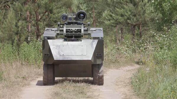 Běloruský bojový robot Bogomol - Sputnik Česká republika
