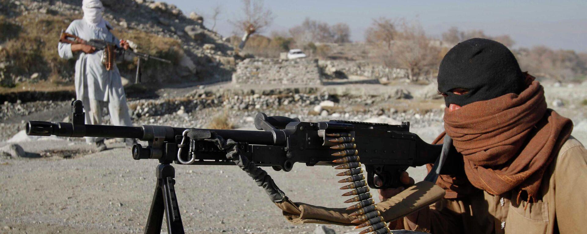 Bojovníci radikálního hnutí Tálibán v Afghánistánu - Sputnik Česká republika, 1920, 09.08.2021