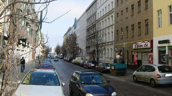 Улица Mariannenstraße в Берлине, Германия - Sputnik Česká republika