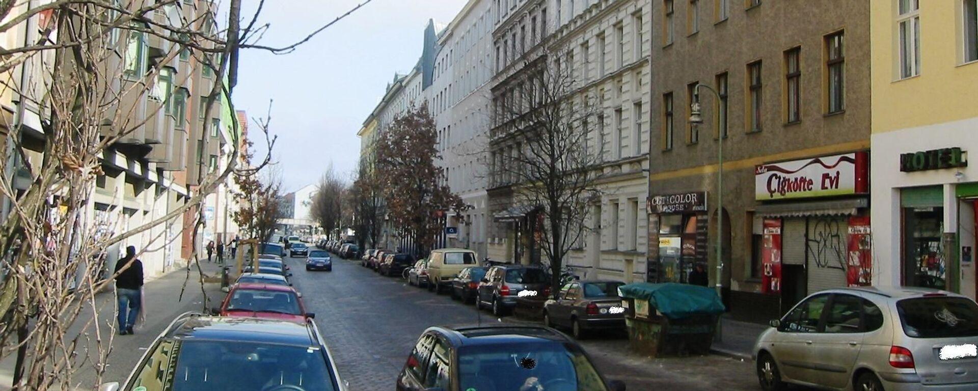 Ulice Mariannenstraße v Berlíně, Německo - Sputnik Česká republika, 1920, 28.06.2021