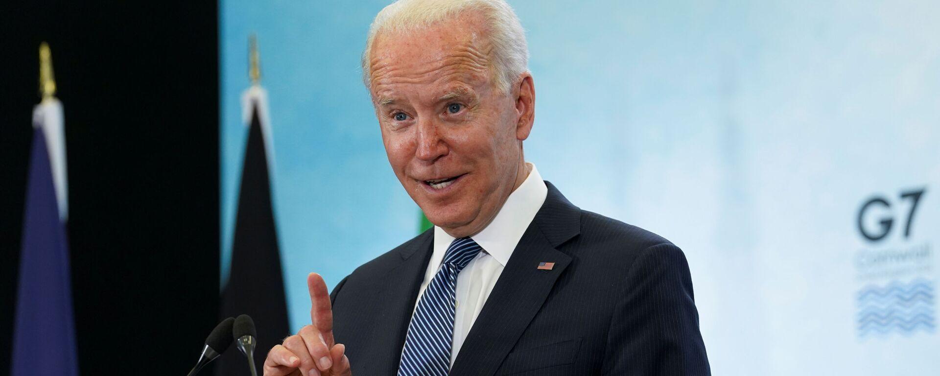 Prezident USA Joe Biden - Sputnik Česká republika, 1920, 04.07.2021
