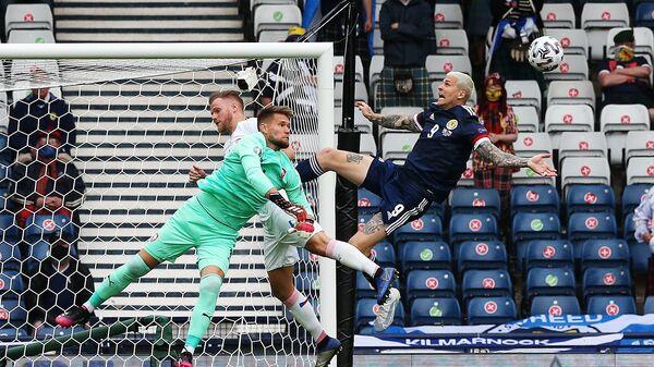 Матч между сборными Чехии и Шотландии на чемпионате Европы-2020 в Глазго - Sputnik Česká republika