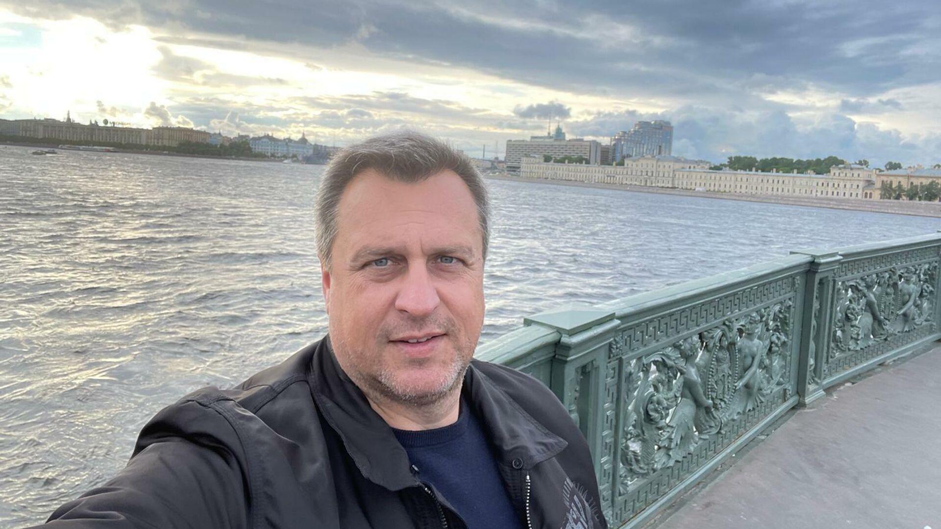 Andrej Danko během návštěvy v Petrohradě. - Sputnik Česká republika, 1920, 18.09.2021