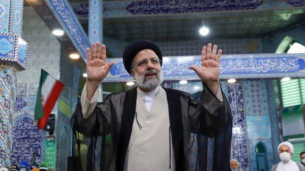 Глава судебной власти Ирана Ибрахим Раиси  - Sputnik Česká republika