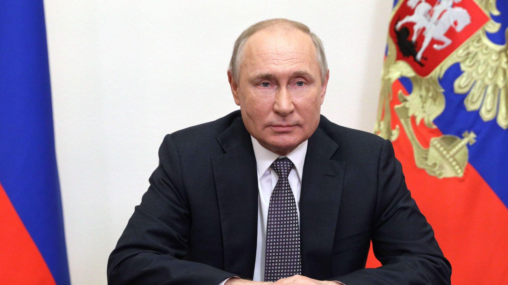 Ruský prezident Vladimir Putin se obrátil k účastníkům Moskevské bezpečnostní konference - Sputnik Česká republika, 1920, 01.09.2021