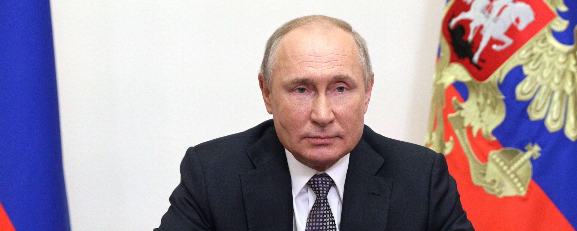 Ruský prezident Vladimir Putin se obrátil k účastníkům Moskevské bezpečnostní konference - Sputnik Česká republika, 1920, 17.09.2021