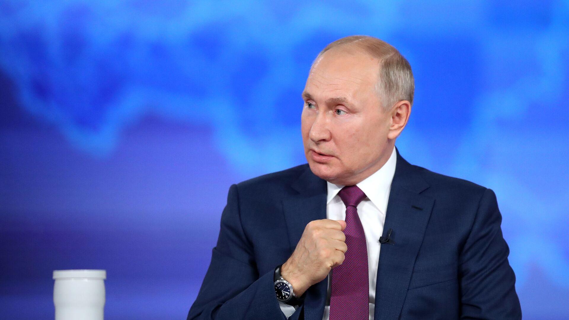 Vladimir Putin - Sputnik Česká republika, 1920, 09.09.2021