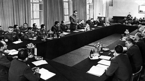 Совещание министров обороны государств-участников Варшавского Договора, 1968 год - Sputnik Česká republika