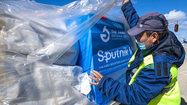 Dodávky vakcíny Sputnik V do světa - Sputnik Česká republika